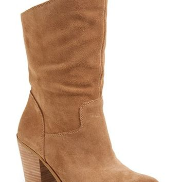 Women's Lucky Brand 'Embrleigh' Almond Toe Boot,