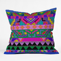 Kris Tate Harmonyyy Outdoor Throw Pillow