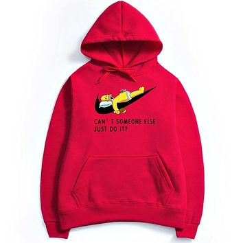 NIKE  Just Do It ,Men,s Hoodie Red