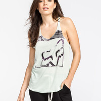 Fox Bindings Womens Tank Mint  In Sizes
