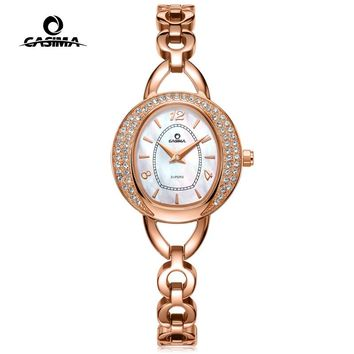 CASIMA Luxury Brand Bracelet Watches Women Montre Femme Fashion Flash Drilling Women Quartz Watch Relojes Mujer Gift 2616