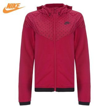 Nike Original Women's Windrunner Sport Knit Jacket Red 687568-607