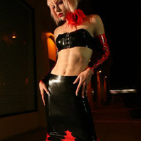 - Latex Flame Skirt
