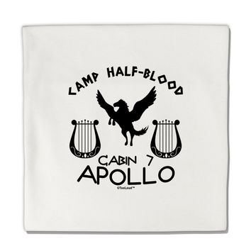 "Cabin 7 Apollo Camp Half Blood Micro Fleece 14""x14"" Pillow Sham"
