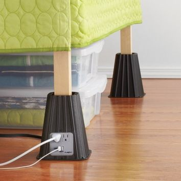 USB Bed Risers.
