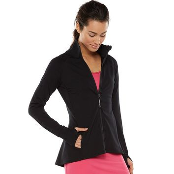 Gaiam Energy Full-Zip Yoga Jacket