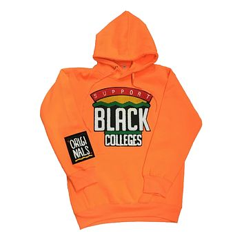 "Originals ""Support Black College"" Hoodie in Orange"