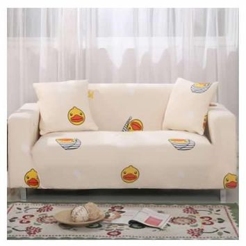 1 Seater Stretch Chair Sofa Covers Couch Cover Elastic Slipcover Protector