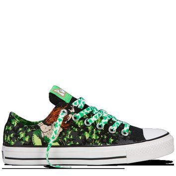Converse - All Star DC Comics- Poison Ivy - Low - Black/Green