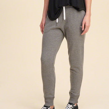Girls Hollister Logo Elastic Graphic Joggers | Girls New Arrivals | HollisterCo.com