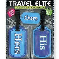 Couples & Newly Weds Luggage tags 3 piece set