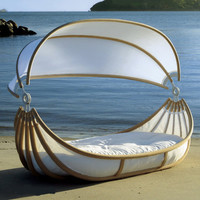 Outdoor Canopy Beds ? Float bed by Design Mobel will make your romantic dreams come true ... | Trendir