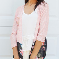Clearance- Floral's A Bloom Cardigan