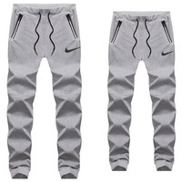 NIKE men and women casual fashion trousers sweat pants