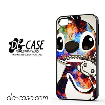 Stitch Disney Galaxy For Iphone 4 Iphone 4S Case Phone Case Gift Present
