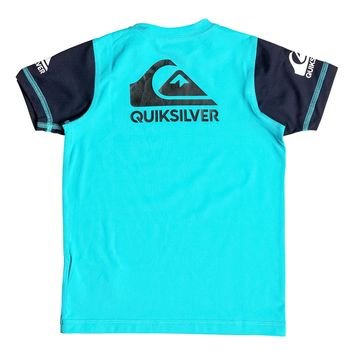 Boy's 2-7 Heats On Short Sleeve Rash Tank 889351681263 | Quiksilver