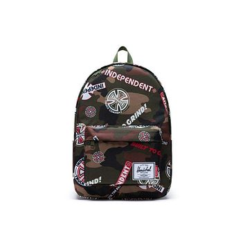 Herschel Supply Co. - Classic Woodland Camo Multi Logo Cypress Independent XL Backpack