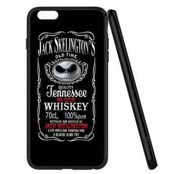 Jack Skellington Whiskey Daniels iPhone 6 | 6S Case Planetscase.com