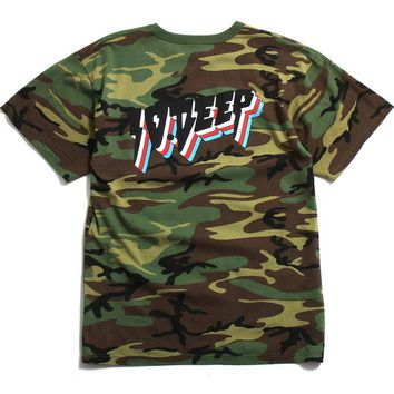 All The Lights T-Shirt Woodland Camo