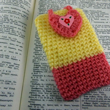 Cell Phone Case Mobile Case Crochet Phone Case Phone Cover Phone Sleeve Cell Phone Cozy Phone Pouch Knit Phone Case Phone Purse