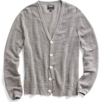 Grey Heather Cardigan