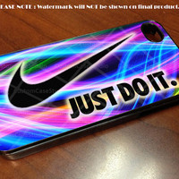 Just Do It Nike- iPhone 4 / iPhone 4S / iPhone 5 Case Cover
