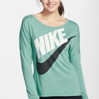 Nike 'Signal' Logo Scoop Neck Tee