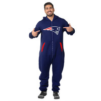 New England Patriots Adult One Piece KLEW Sport Suit Sizes XS-XL w/ Priority Shipping