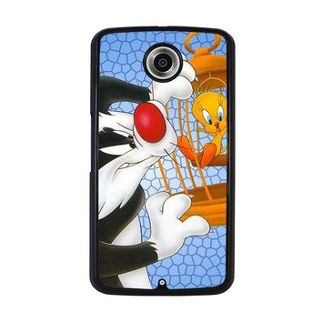 SYLVESTER AND TWEETY Looney Tunes Nexus 6 Case Cover
