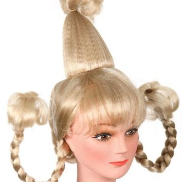 Whoville Girl Halloween Costume Wig