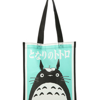 Studio Ghibli My Neighbor Totoro Mint Small Shopper Tote