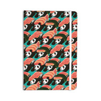 "Tobe Fonseca ""Sushi Panda"" Orange Blue Everything Notebook"