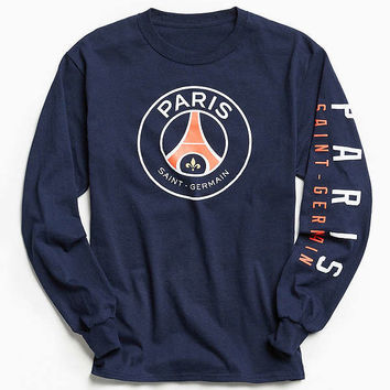 Paris St. Germain Long Sleeve Tee | Urban Outfitters