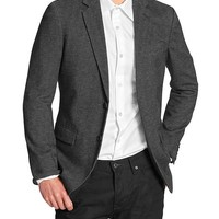 Banana Republic Mens Factory Tailored Slim Fit Herringbone Blazer