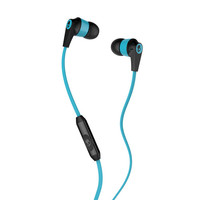 Skullcandy Ink'd 2 Mic'd Earbuds Carbon/Mint One Size For Men 24303452301