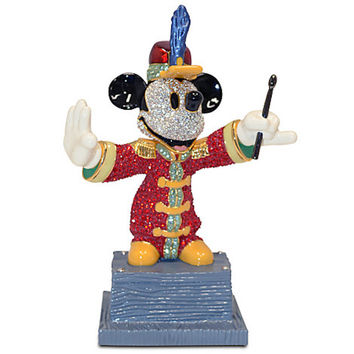 Disney Bandleader Mickey Mouse Figurine by Arribas New Limited Edition 2000