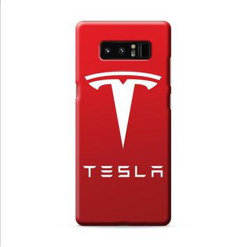 New Tesla Motors Logo Samsung Galaxy Note 8 case