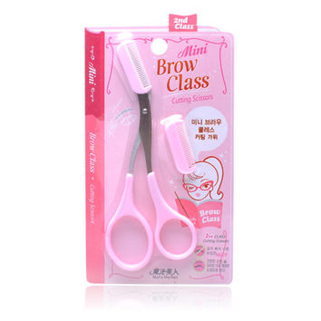 Eyebrow Scissors Tools Brush [6044638337]