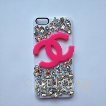 Jeweled Couture iPhone 5 iPhone 4 4S Case