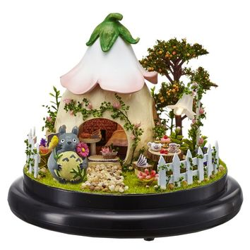 doll house DIY  kit GREEN GARDEN BO-15