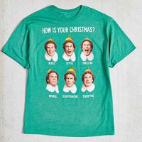 Buddy The Elf How Is Your Christmas Tee- Green