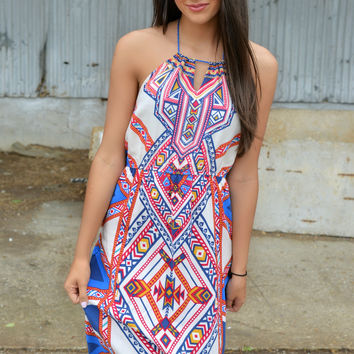 Walk Like an Egyptian Maxi Dress