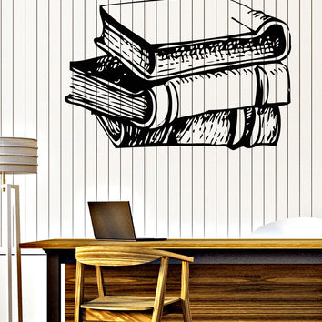 Wall Vinyl Decal Vintage Edition Book Interior Decor Book Shop Unique Gift z4649