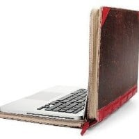 Amazon.com: Twelve South 12-1004 BookBook, Hardback Leather Case for 15-inch MacBook Pro (Red): Electronics