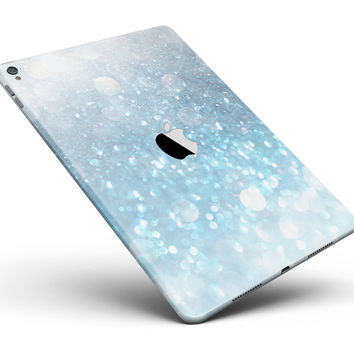 """Unfocused Abstract Blue Rain Full Body Skin for the iPad Pro (12.9"""" or 9.7"""" available)"""