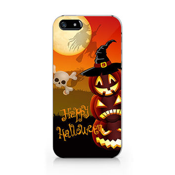 N-524- Pumpkin halloween for iPhone 4/5/5C/6 case, Samsung galaxy S4/S5/Note3 case
