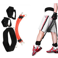 Resistance Jump Leap Trainer Rope Leg Training Exercise Expander Band Equipment Basketball Volleyball Pull Rope