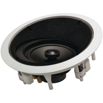 """Architech 6.5"""" 2-way Round Angled In-ceiling Lcr Loudspeaker"""
