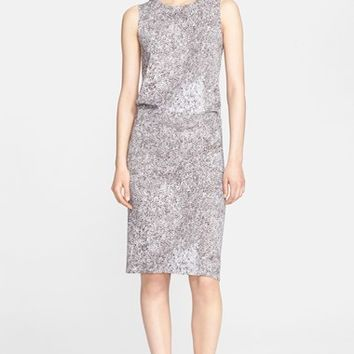 Women's Max Mara 'Orense' Sleeveless Print Jersey Dress