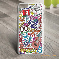 Taylor Swift Collage Art Custom case for iPhone, iPod and iPad